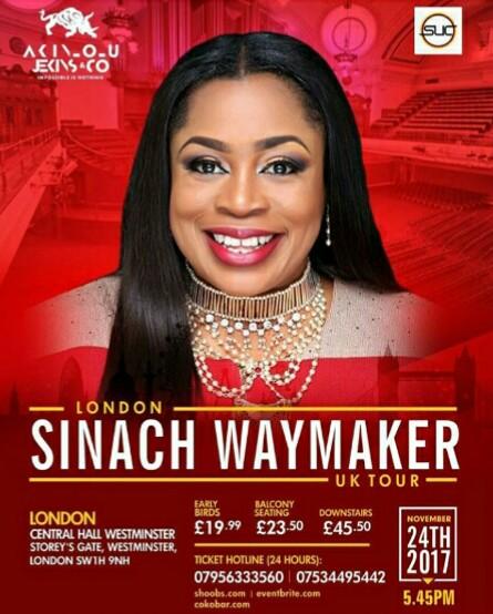 Sinach-waymaker-tour